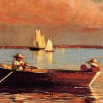 rowing-painting